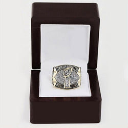 Wholesale 2002 Tampa Bay Buccaneers Replica Super Bowl Copper High Quality Fans world Championship Ring with Gorgeous Wooden Box