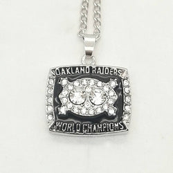 Wholesale High Quality 1980 Oakland Raiders Super Bowl World Championship  necklace