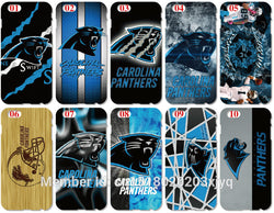 Wholesale Painting Carolina Panthers Cell Phone Cover For iphone 4 4S 5 5S SE 5C 6 6S 7 Plus For iPod Touch 4 5 6 Mobile Case