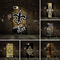 Yooyour New Orleans Saints Logo Cover Case For Apple iphone 4 4s 5 5s SE 5c 6 6s 7 plus For HTC M7 M8 M9 X9 A9