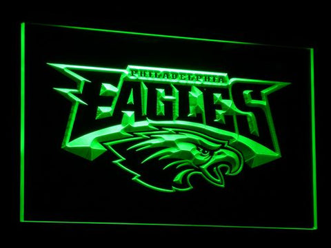 b054 Philadelphia Eagles Football LED Neon Sign with On/Off Switch 7 Colors 4 Sizes to choose