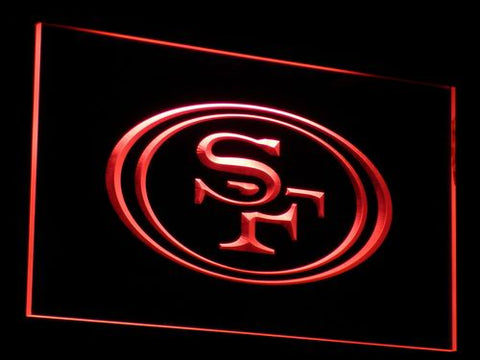 b057 San Francisco 49ers Football LED Neon Sign with On/Off Switch 7 Colors 4 Sizes to choose