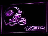b335 San Francisco 49ers Helmet LED Neon Sign with On/Off Switch 7 Colors 4 Sizes to choose sent in 24 hrs