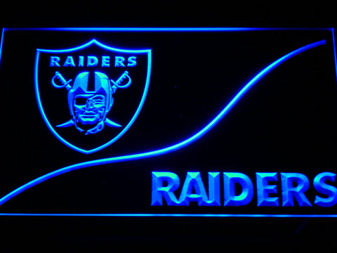 b510 Oakland Raiders LED Neon Sign with On/Off Switch 7 Colors 4 Sizes to choose