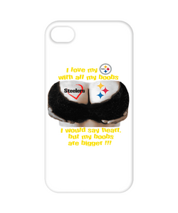Steelers Boobs iPhone Case