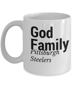 God Family Pittsburg Steelers