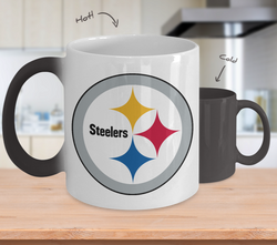 Steelers Boobs color changing Mug right