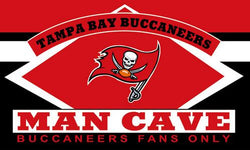 high quality Tampa Bay Buccaneers flag man cave banner 100D   3x5FT