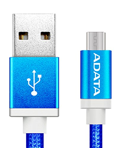 ADATA Cable Android Micro USB , color Azul - imobile mx