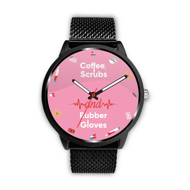 Awesome Pink Nurse Watch