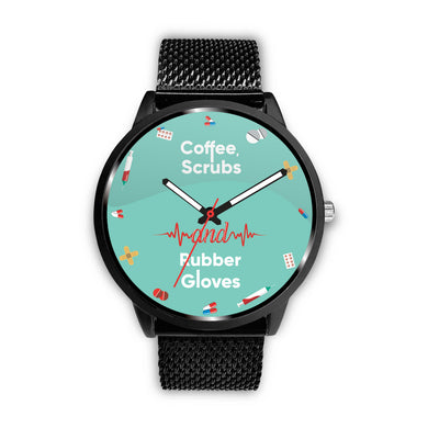 Awesome Teal Nurse Watch