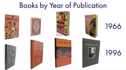 books by year of publication