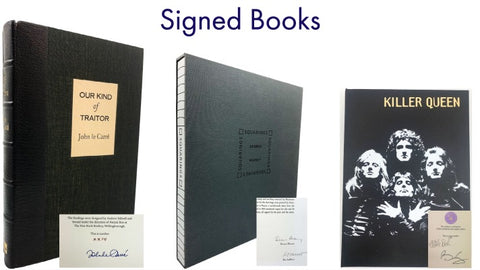 signed first edition books