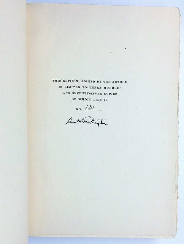 Booth Tarkington - SIGNED | The Midlander | Rare Books