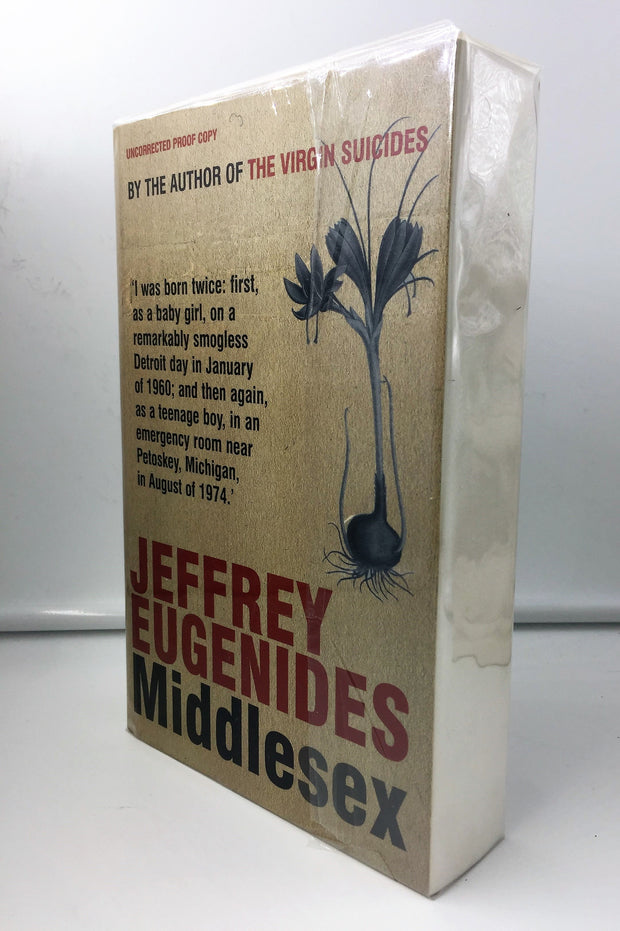 Jeffrey Eugenides - SIGNED | Middlesex | Rare Books