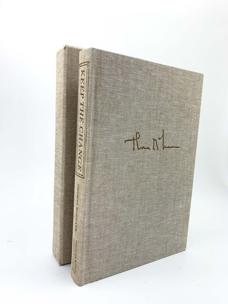 McGuane, Thomas - Keep the Change, First Edition / Limited Edition, Signed, Hardcover, Fiction
