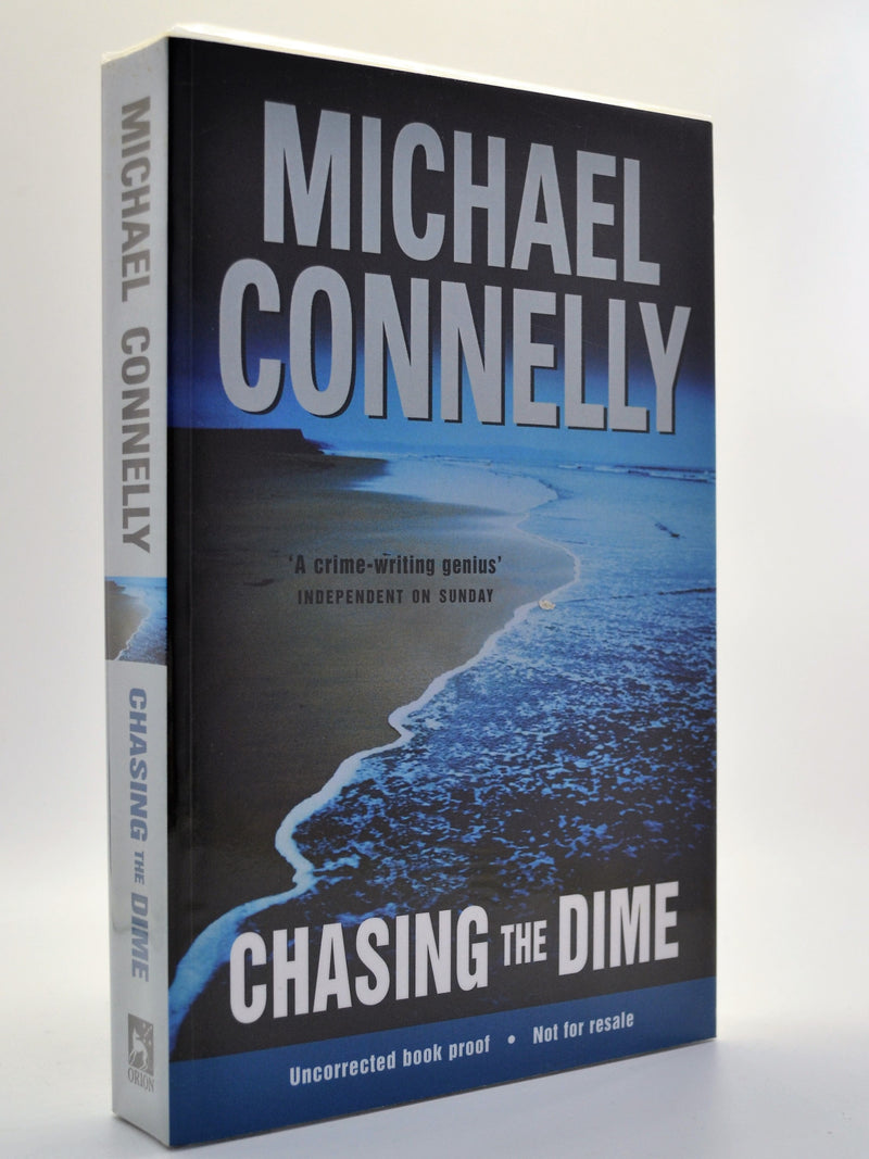 Connelly, Michael - Chasing the Dime - Signed