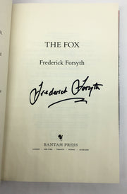 Frederick Forsyth - SIGNED | The Fox | Rare Books