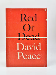 David Peace | Red or Dead ( uncorrected sampler ) | Rare Books