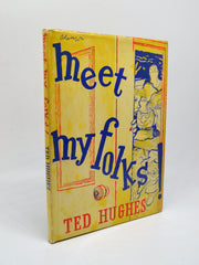 Ted Hughes First Edition | Meet My Folks | Rare Books