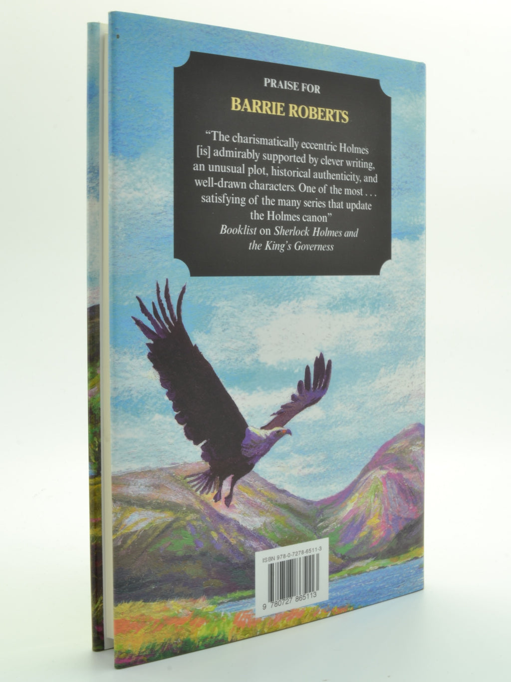 Roberts, Barrie - Sherlock Holmes and the American Angels