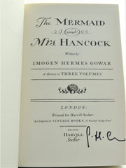 Imogen Hermes Gowar - SIGNED The Mermaid & Mrs Hancock Rare Books