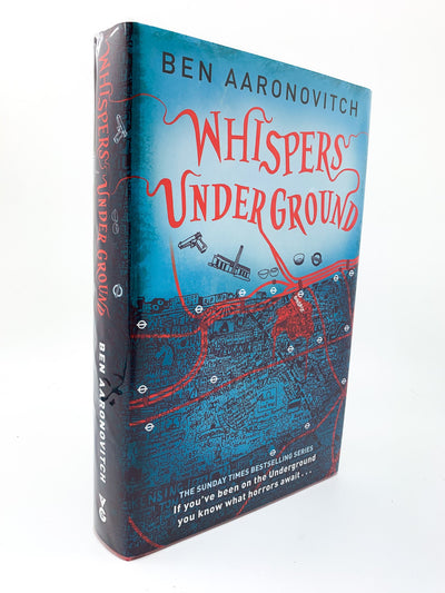 Aaronovitch, Ben - Whispers Under Ground - SIGNED | front cover
