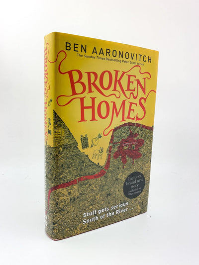 Aaronovitch, Ben - Broken Homes - SIGNED | front cover