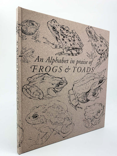 Wood, John Norris - An Alphabet in Praise of Frogs and Toads - SIGNED | front cover