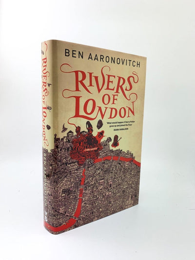 Aaronovitch, Ben - Rivers of London - SIGNED | front cover