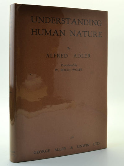 Adler, Alfred - Understanding Human Nature | front cover