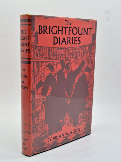 Aldiss, Brian W - The Brightfount Diaries | front cover