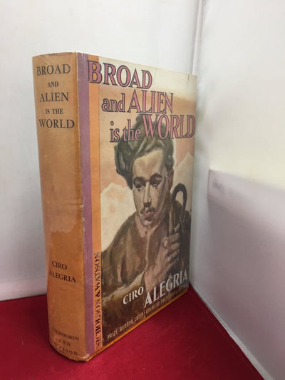 Alegria, Ciro - Broad and Alien is the World | front cover