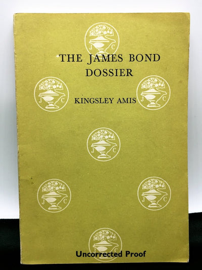 Amis, Kingsley - The James Bond Dossier | front cover