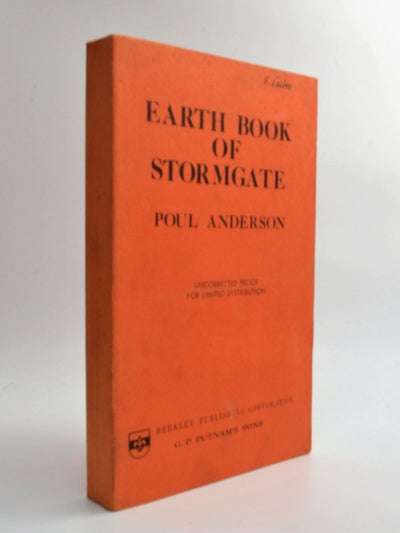 Anderson, Poul - Earth Book of Stormgate ( Fritz Leiber's copy ) | front cover