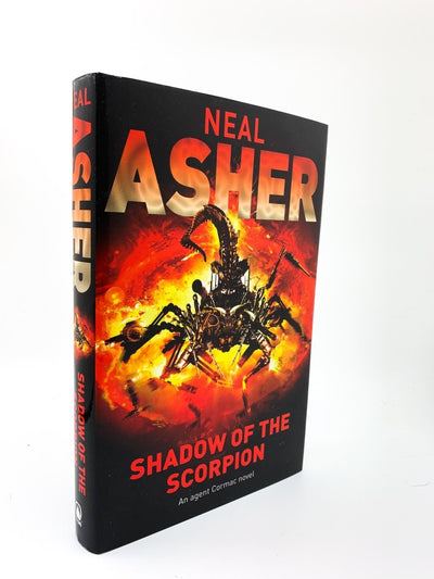 Asher, Neal - Shadow of the Scorpion | front cover