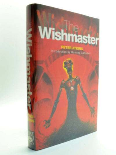 Atkins, Peter - The Wishmaster ( SIGNED by Peter Atkins and Ramsey Campbell ) - SIGNED | front cover