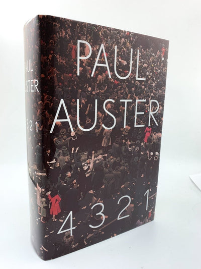 Auster, Paul - 4 3 2 1 - SIGNED | front cover