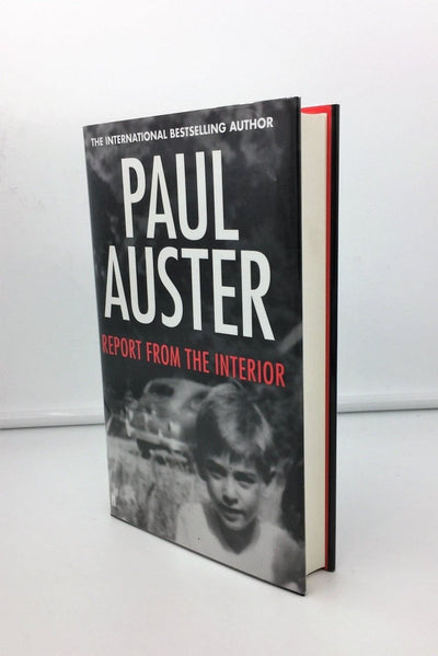 Auster, Paul - Report from the Interior | front cover