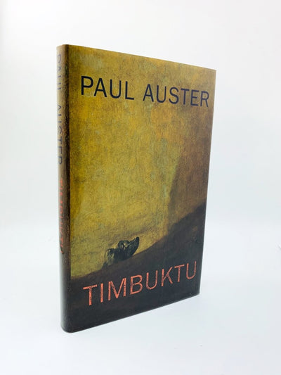 Auster, Paul - Timbuktu - SIGNED | front cover