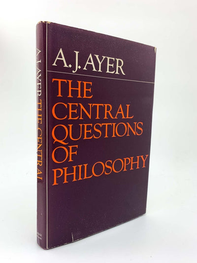 Ayer, A J - The Central Questions of Philosophy | front cover