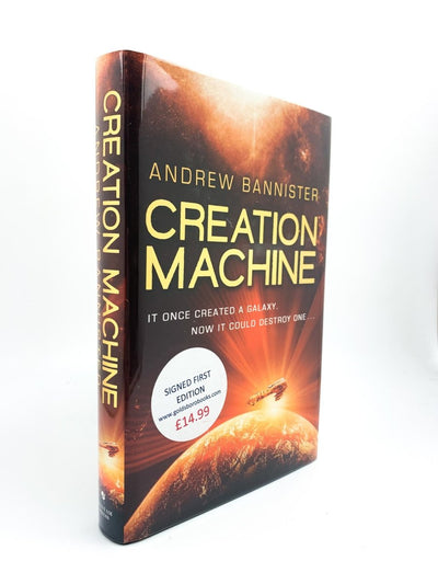 Bannister, Andrew - Creation Machine - SIGNED | image1
