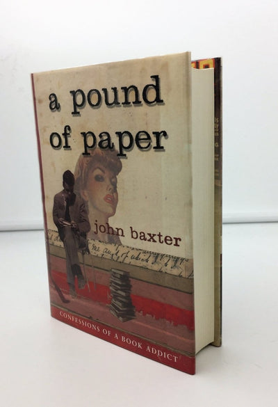 Baxter, John - A Pound of Paper | front cover