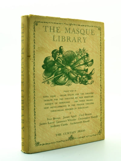 Beaton, Cecil; Whistler - The Masque Library | front cover