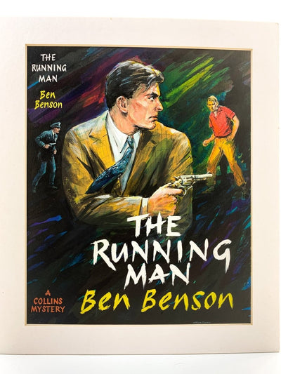 Benson, Ben - The Running Man ( Original Dustwrapper Artwork ) - SIGNED | front cover