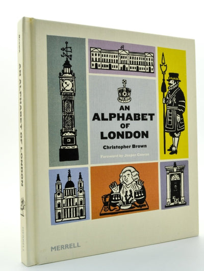 Brown, Christopher - An Alphabet of London | front cover