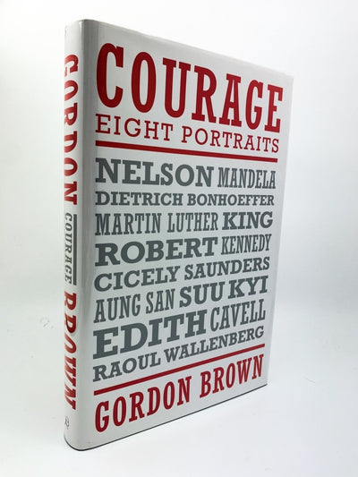 Brown, Gordon - Courage - SIGNED | front cover