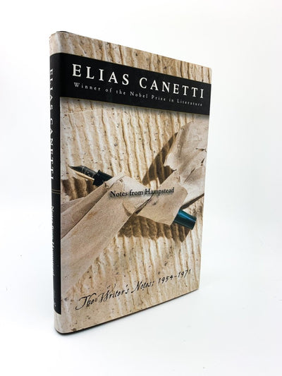 Canetti, Elias - Notes from Hampstead : The Writer's Notes 1954 - 1971 | front cover