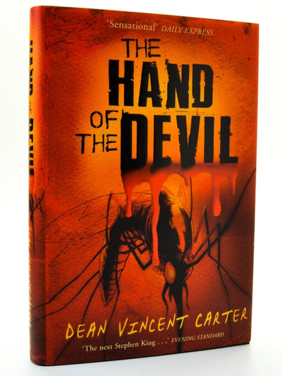 Carter, Dean Vincent - The Hand of the Devil - SIGNED | front cover