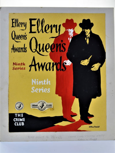 Ellery Queen's Awards Ninth Series ( Original Dustwrapper Artwork ) - SIGNED | front cover